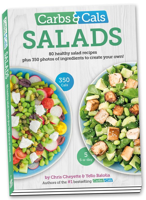 salad book cover